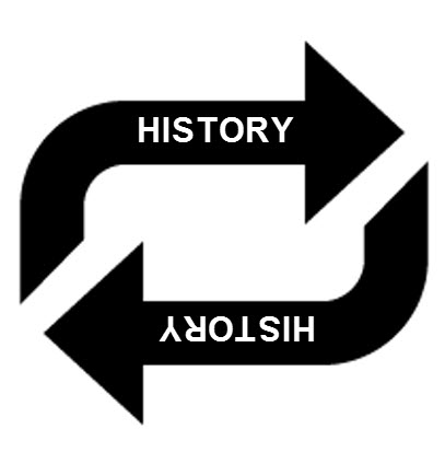 a repeat in history I'm as guilty as the next person of having blithely stated something no history  teacher should ever accept, let alone utter history does not.