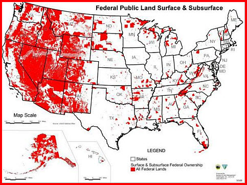 Government Land Grabs The Truth Exposed Part And - Us public property map